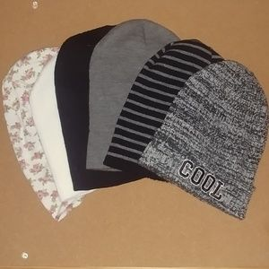 Bundle of 6 beanies